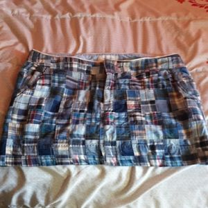 AE cotton patchwork mini